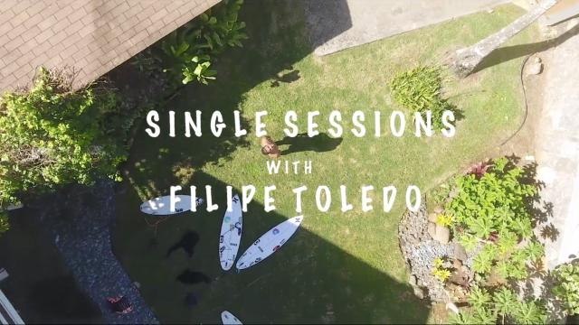 FILIPE TOLEDO - SINGLE SESSIONS - HAWAII ROCKY POINT
