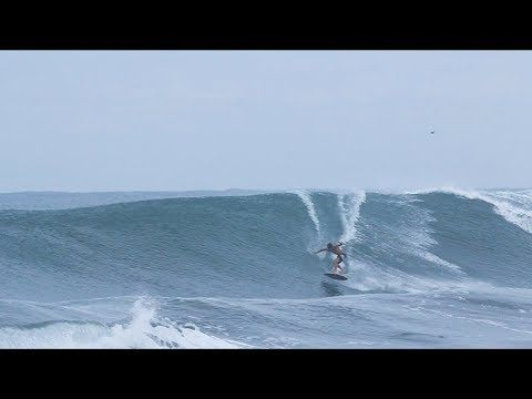 The Domke Daily 123: Big Wave Skimboarding 360 Shove It to Barrel to Slob Grab Rail Turn