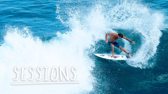The World Tour Free Surfs At Pumping Uluwatu | Sessions