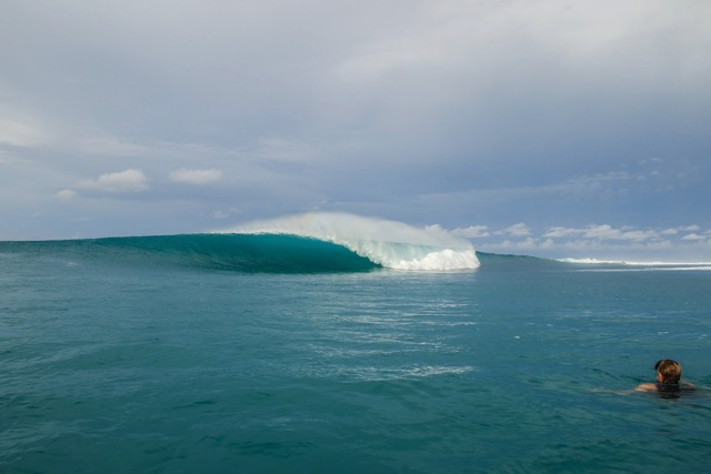 Left or Right? - Pumping Mentawai barrels July 2016 by Andy Potts