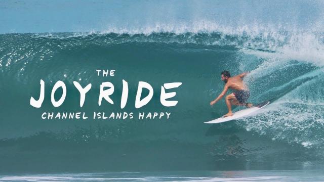 The Joyride Board Test: Channel Islands Happy
