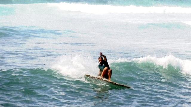 Yrwan Garcia Léal- alaia small waves big fun