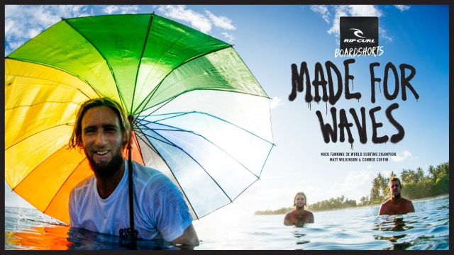 Made For Waves Maldives | Spring Boardshorts 2018