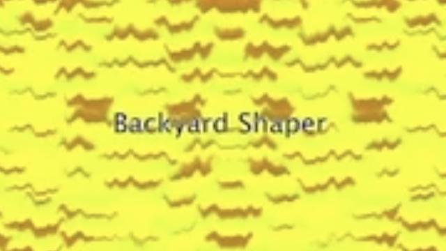 Backyard Shaper by Mitchell Smith | Trey Martinho