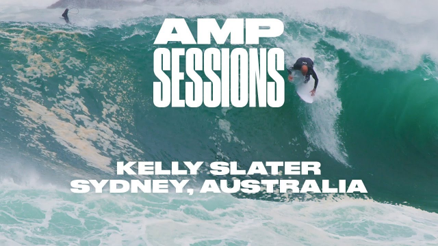 Kelly Slater Tackles one of Sydney's Weirdest Slabs