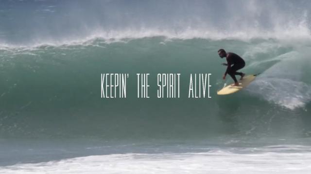 KEEPIN' THE SPIRIT ALIVE | Joyas surfboards X Chien Ville X Casa Maccaroni