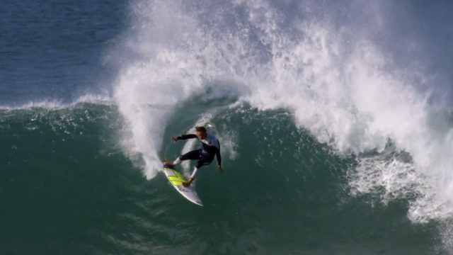Jordy Smith and His Beloved Jeffrey's Bay