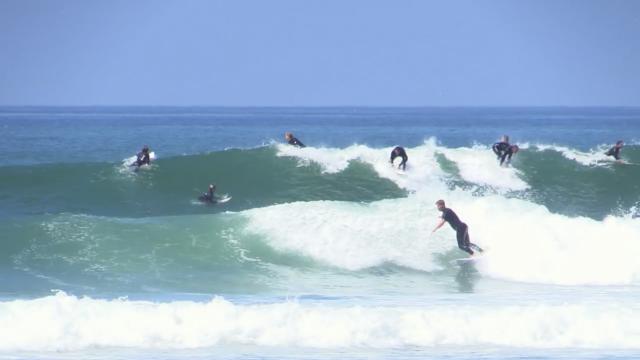Lower Trestles Surfing Raw | San Clemente, CA
