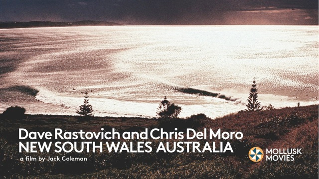 Dave Rastovich and Chris del Moro | NSW Australia
