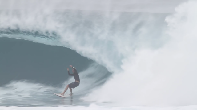 John John Florence at Backdoor Jan 15th, 2015