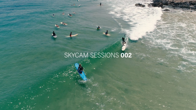 Noosa Surfing Skycam Sessions 002: Juan & Condor at Little Cove