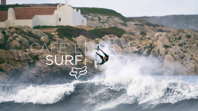 Fox Presents | Cafe' e Surf featuring Damien Hobgood, Keanu Asing and Bede Durbidge
