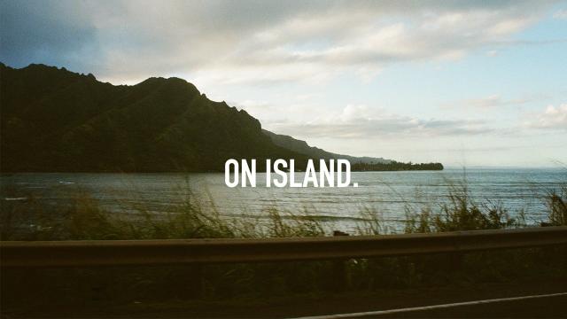 ON ISLAND.