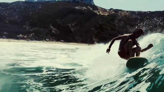 Ozzy Wright • Ford Archbold • Justin Adams share waves somewhere in Southern CA