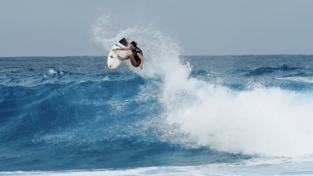 Game Face: Carissa Moore + Michel Bourez in the South Pacific