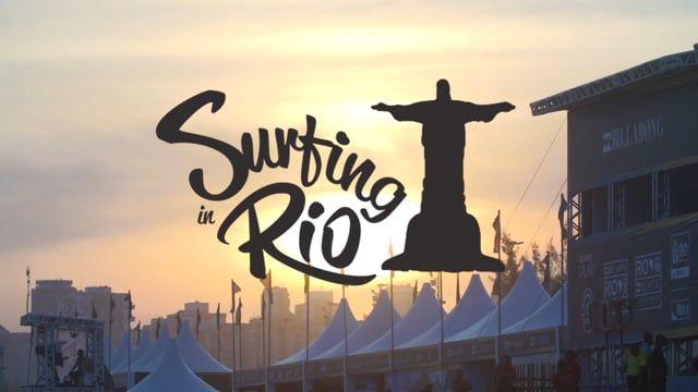 Surfing Rio