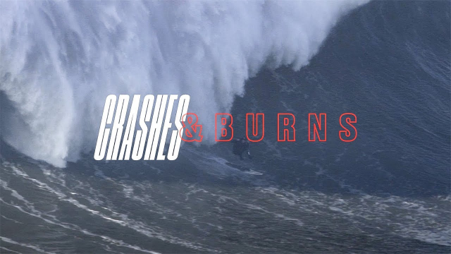 The Greatest Wipeouts From Nazaré | SURFER | Crashes and Burns