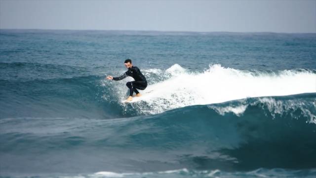 Mister Rogers - longboarding in israel