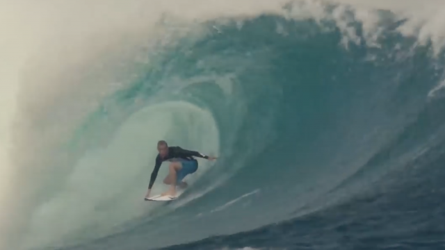 Seven waves on an SKX (and one on a Sci-Fi) - Stuey Kennedy at home and in Fiji.