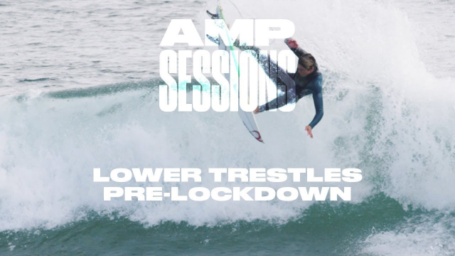 San Clemente Locals Shred Lowers Right Before The COVID-19 Lockdown