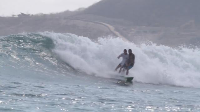Mitch Parkinson Visits Lombok