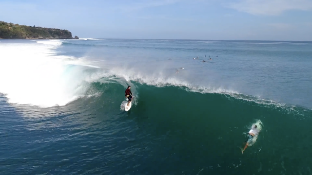 Island of the Gods: Surfing Padang Padang