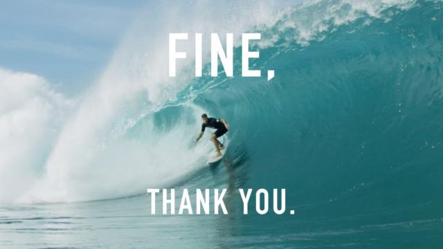 FINE, THANK YOU. / NATHAN FLORENCE