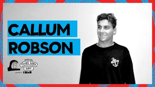 Callum Robson- Young Guns Surf 2017