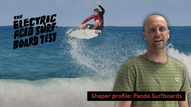 """It Feels Like It Goes To Me"" - Noa Deane's EAST Shaper Profile: Panda Surfboards"