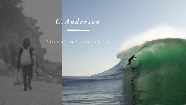 CRAIG ANDERSON Signature Blackstix