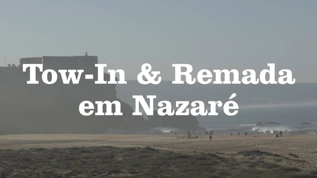 Session de Tow-In & remada em Nazaré - Canal OFF APP