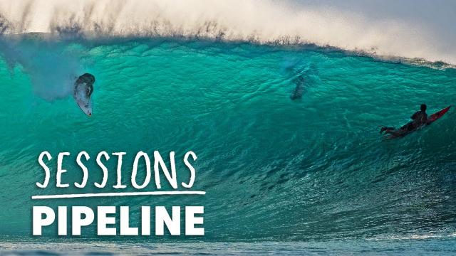 Pipeline Opens Up The North Shore Winter Season In Firing Fashion | Sessions