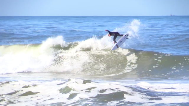 Surfing California Beach Break