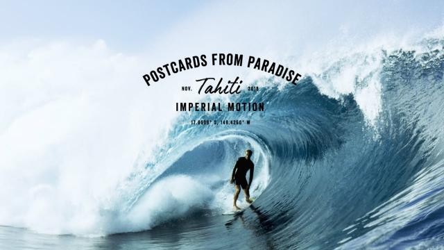 POSTCARDS FROM PARADISE // TAHITI