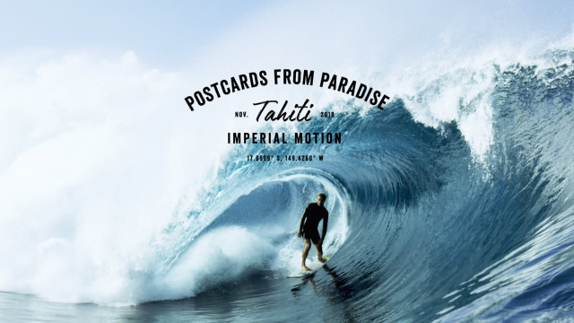POSTCARDS FROM PARADISE // TAHITI