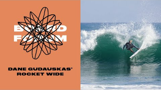 "Shows How Channel Islands' Rocket Wide Surfboard was ""Designed to Just Enjoy"""