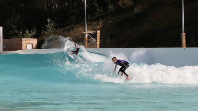 Zietz and Kennedy: Man-on-Man in the Wavegarden Cove
