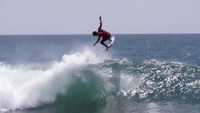 Marc Freesurfing in Portugal