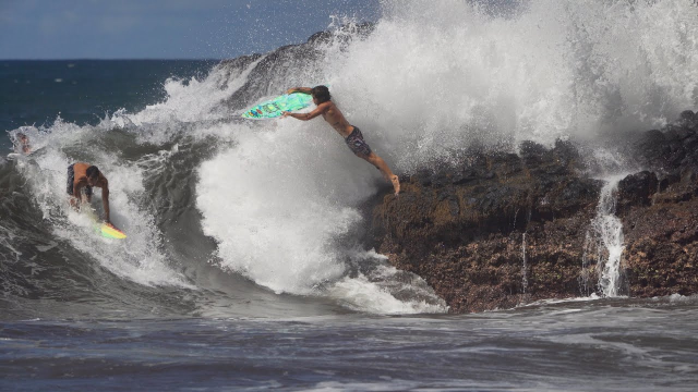 "Mason's Mini Surfboard - 4'9"" Rad Ripper - Tahiti"