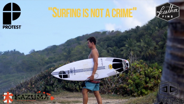 SURFING IS NOT A CRIME