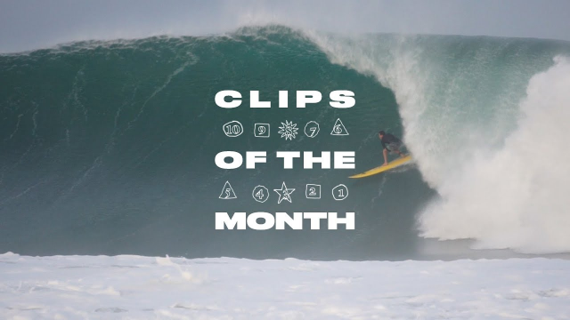 Greg Long's Puerto Escondido Bomb Tops Clips of the Month for July 2019