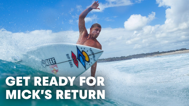 Don't Miss These Three Minutes Of Mick Fanning In Blazing Form In Oz | RAW