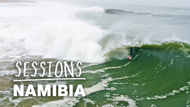Conor Maguire Chases The Legendary Lefthand Barrels Of Skeleton Bay, Namibia