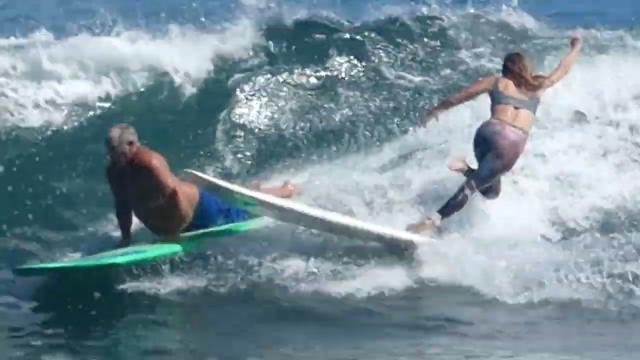DANNY CARR :: BULLDOZER SURFING MALIBU - FULL MOON SURF CLUB