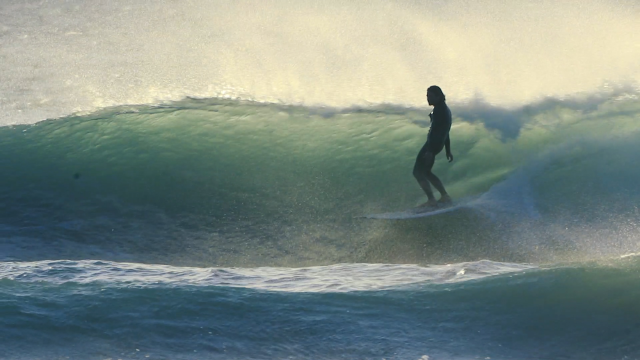 Sean with the wind | Filmed by Trent Stevens