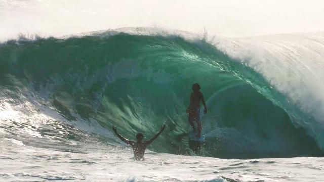 Darmaputra Tonjo lighting up pumping surf in Bali & Java