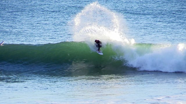 """One winter day with Adam Lambert"" A California Surfing Short Film"
