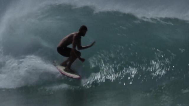 Jye Byrnes Surfboards Boardscape Six Channel Single fin model