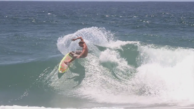 Surfing perfect waves in Cabo