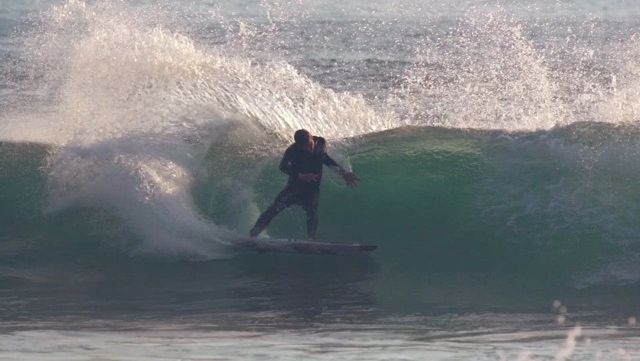 "Taj Burrow / WA / One session on the 5'6"" Baby Buggy"